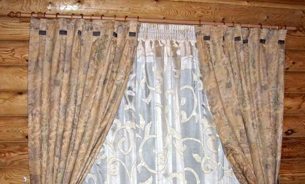 Curtain curtains: curtains in the living room interior, wilborg in the room, curtain fabric and finished products