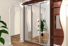 21801307-built-in wardrobes-in-the-hall-photo