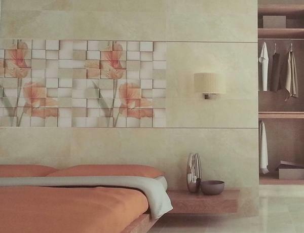 With the help of the panel you can hide the unevenness of the wall. Also, you can visually reduce or increase the size of the wall
