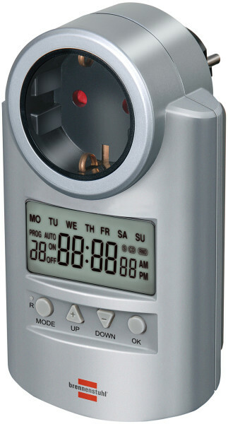 Socket with electronic timer