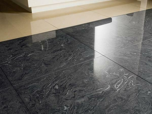 Tile - the material is cold, but the installation of a warm floor can fix this disadvantage