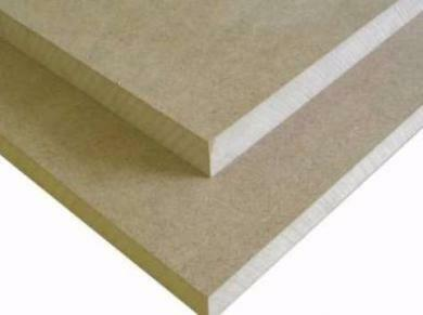 MDF is a particle board having a homogeneous structure