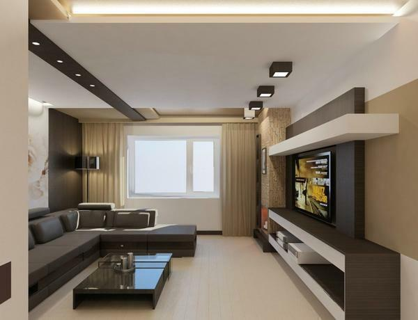 Preparing the design project of the living room, remember the basic rules of mixing different styles