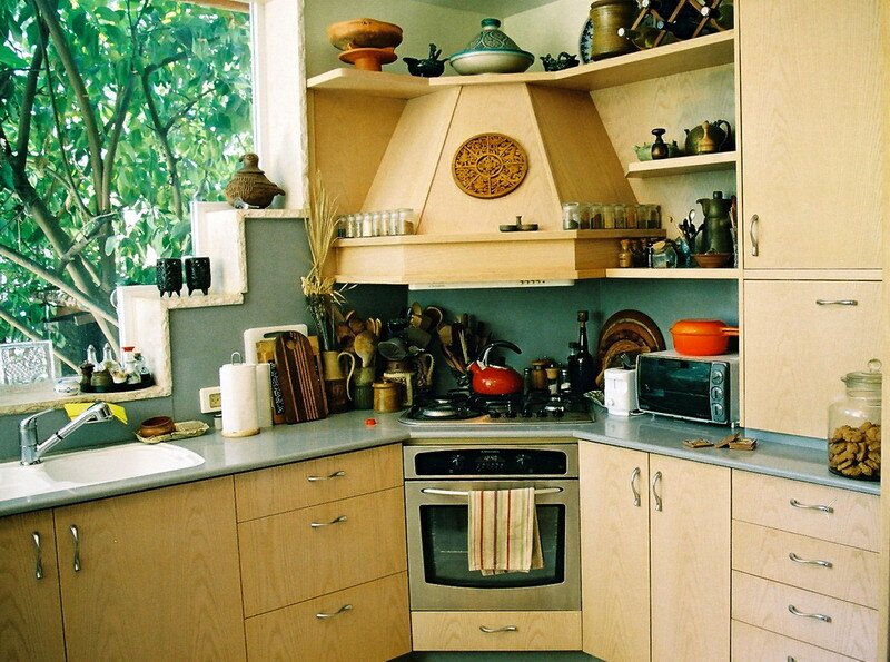 simple kitchen interior
