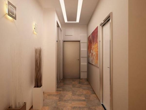 Repair in the hallway photo with a narrow corridor: apartment ideas and options, Ikea modular, real interior up to 30 cm