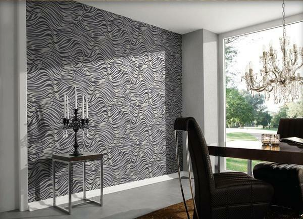 Non-woven wallpaper are of high quality and thus gain a good reputation in the market