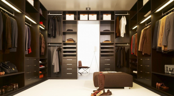Design wardrobe room photo: modern ideas 2017, the interior is ideal, solutions with their own hands, balcony 7 square. M