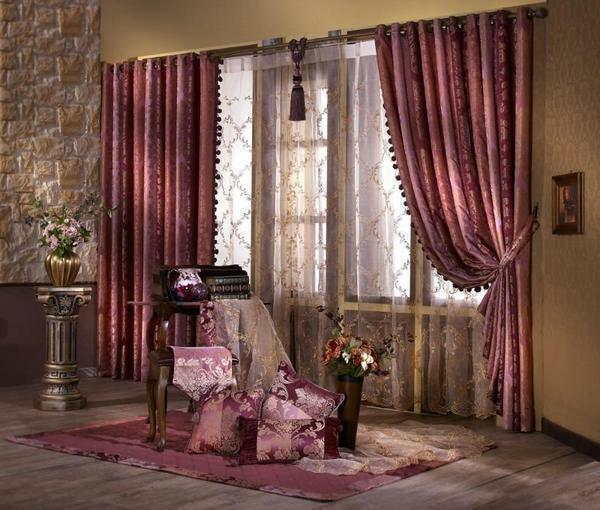 Classic curtains look beautiful and expensive