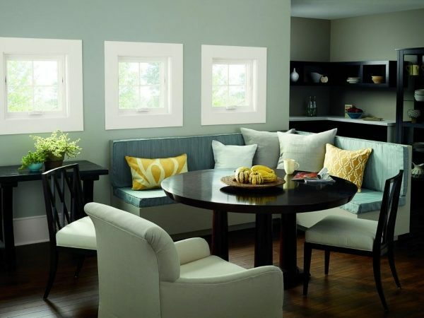 The area of ​​the windows on the south side is best to minimize.