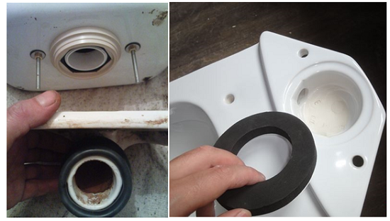 Replacing the gasket between the tank and the toilet is a process that does not require much effort