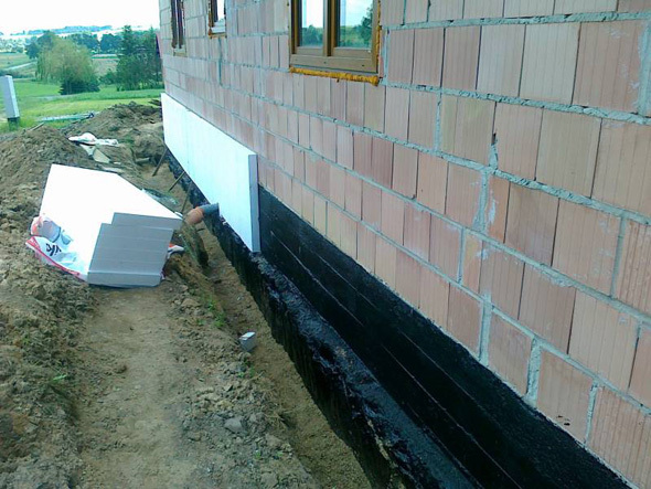 Construction of base foam.