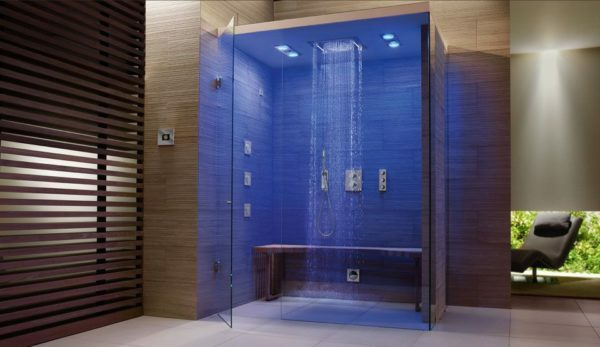 Shower stall without pallet