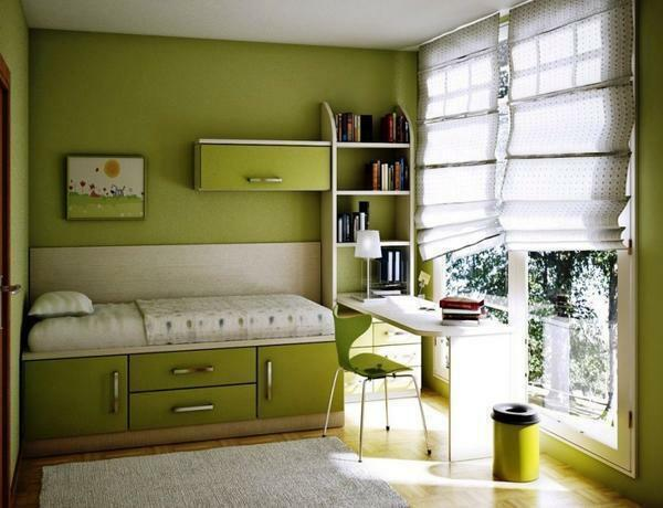 Small bedrooms, as a rule, are more comfortable. It is easier for them to choose a comfortable design for your children
