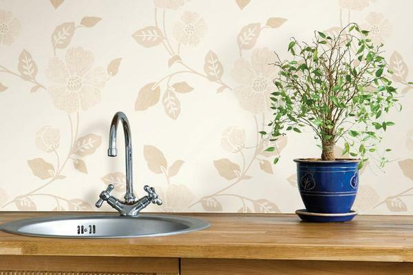 Washable wallpaper: how and what to wash vinyl, can it be liquid, how can I remove grease stain from paper, non-woven