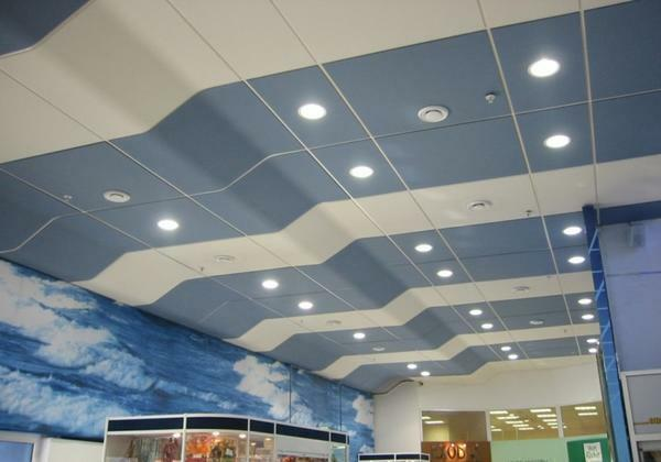 For the installation of Armstrong acoustic ceilings, materials with a porous, cellular or loose structure