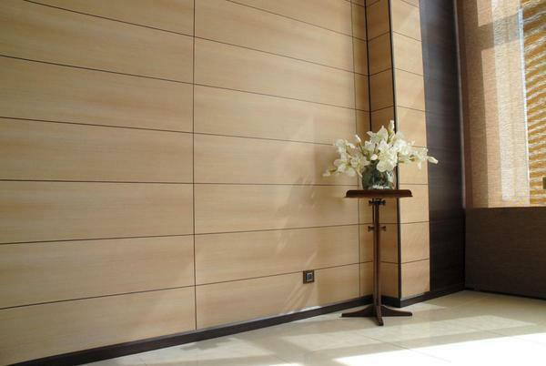 Photo finishing hallway MDF panels: walls in the corridor, design with plastic, wall paper and trim