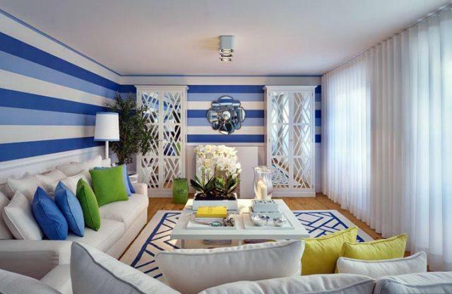 The color of the walls in the living room: photo of the finishes, the design of the hall, the floor of what to choose in the apartment, the stone and the tone in the interior