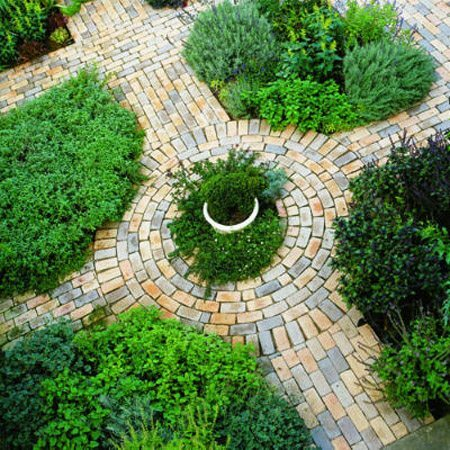 Design garden paths - ideas for implementing their own hands