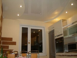 Repair of the ceiling in the kitchen: what happens decoration, advice on registration