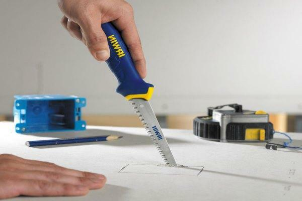 To work with gypsum board it is better to choose high-quality and practical tools