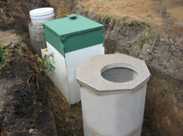 Septic tank with biological treatment station - it's expensive, but effective!