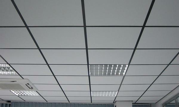 "Suspension system and ""Armstrong"" - the most common variant of finishing the ceiling space in office premises and trading halls"