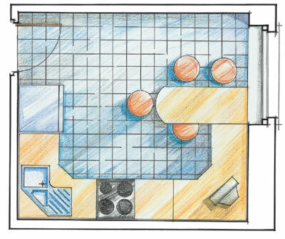 Thumbnail example for the organization kitchen space.