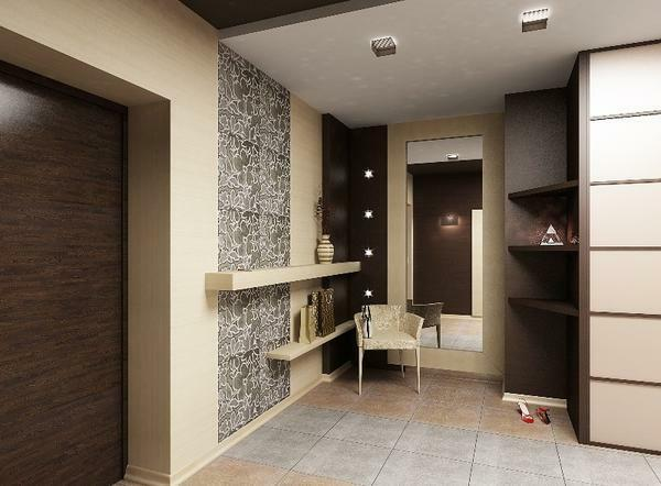 Dressing room is a great way to quickly and compactly hide shoes and clothes