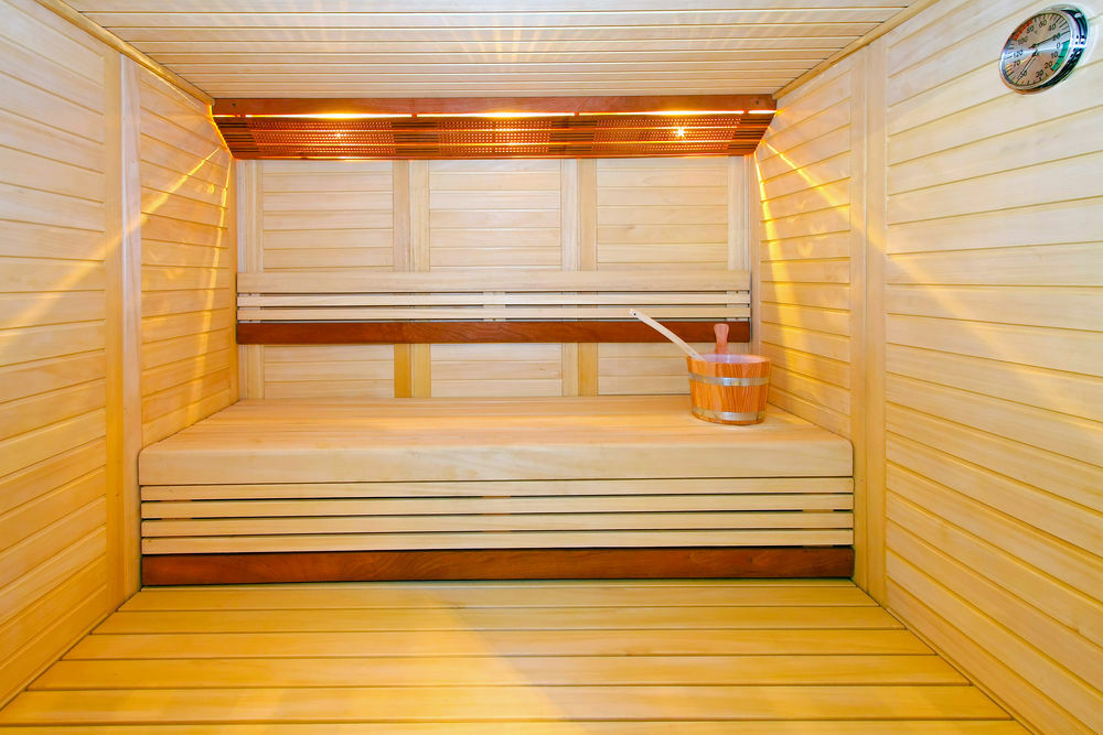 Aspen paneling will last longer in the steam room