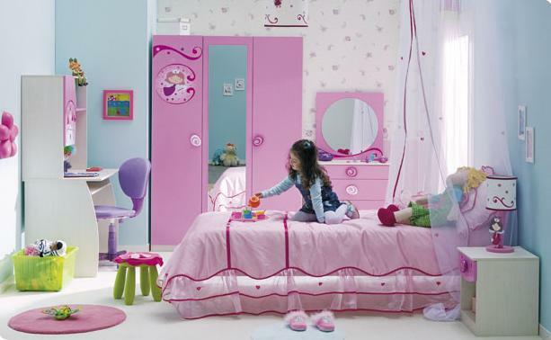 Design a child's room for teen girls