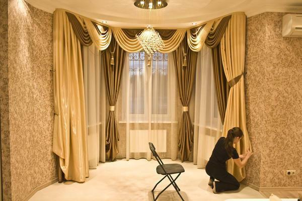 Types of curtains for curtains photo: catalog and new items for bedroom, design with metal, sewing