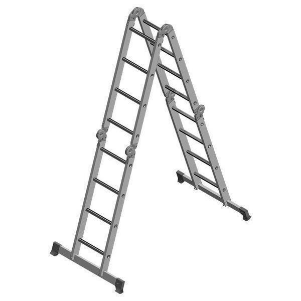 Sufficiently practical and convenient is the Eiffel Premier ladder-transformer, which can withstand weight up to 150 kg