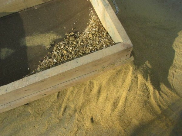 Sand necessarily need to sift