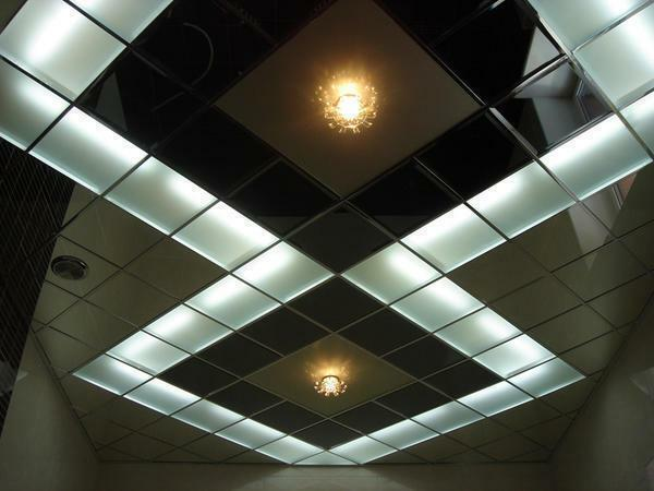 Usually, for the production of Armstrong ceiling tiles, white or black colors are used