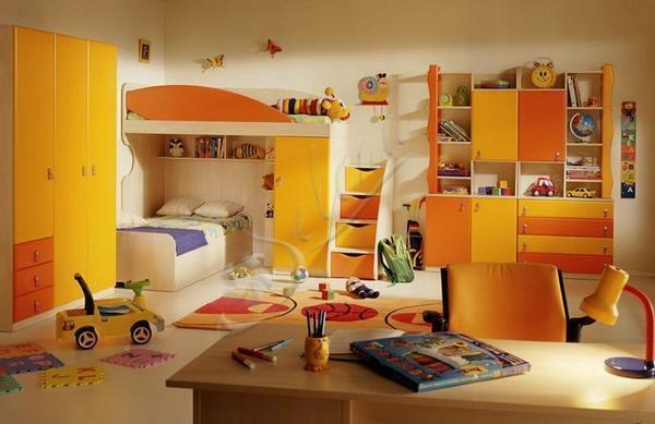 Children's bedroom 2017: photo decoration by themselves, for the child and children, design zones, modern interior ideas