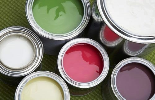 Latex paint - the most environmentally friendly type of paint coatings