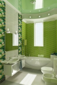 Repair and design of the bathroom