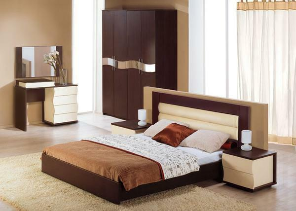 Modular furniture for bedroom: a set of inexpensive, systems and photos