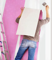 whether it is possible to glue non-woven wallpaper on non-woven