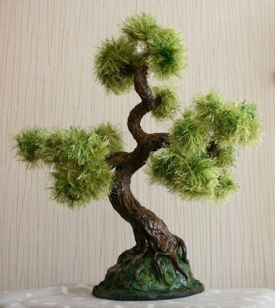 Minimum costs - and the topiary bonsai is ready to please your eye