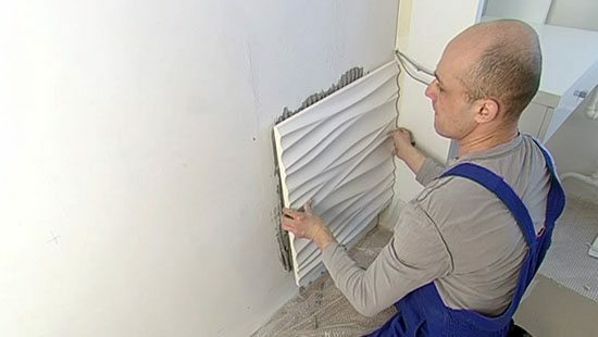 Prior to installation of gypsum boards must carefully prepare the surface