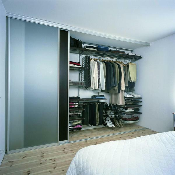 If you decide to re-plan the dressing room, it is best to contact a special service that will give you permission to carry out the process