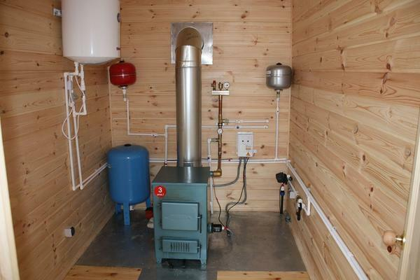 Thanks to the boiler room you can make the house more comfortable for living