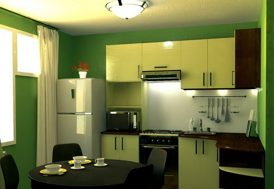 kitchen design 9 meters
