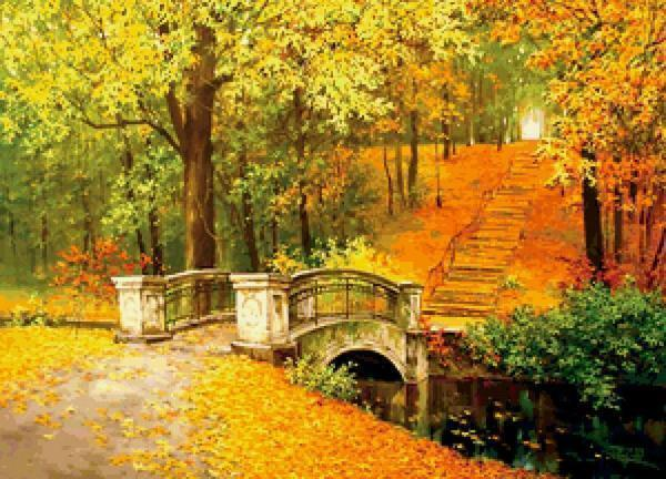 Original and symbolic autumn landscape will be a highlight in your interior