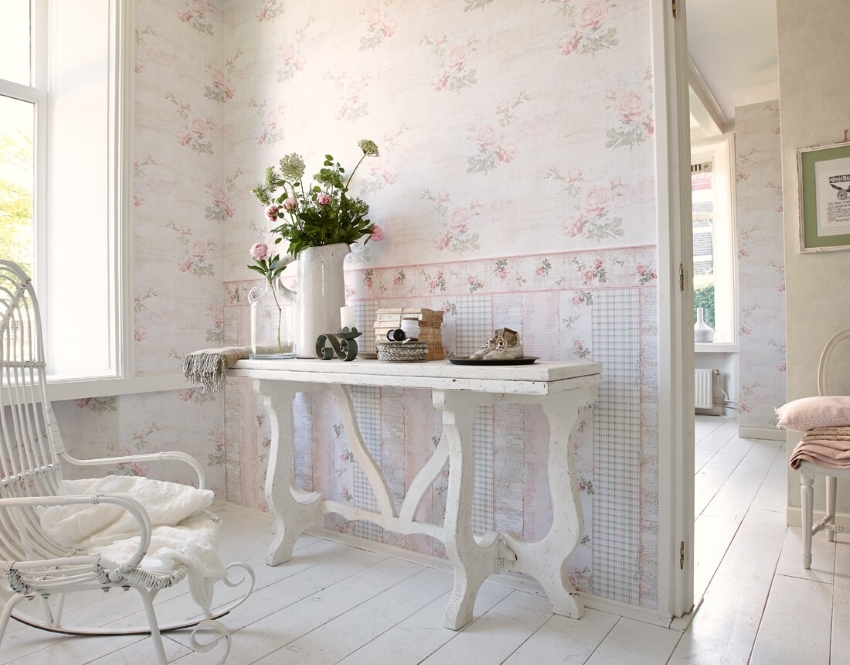 Border wallpaper Tips for selecting and placing edging on the walls