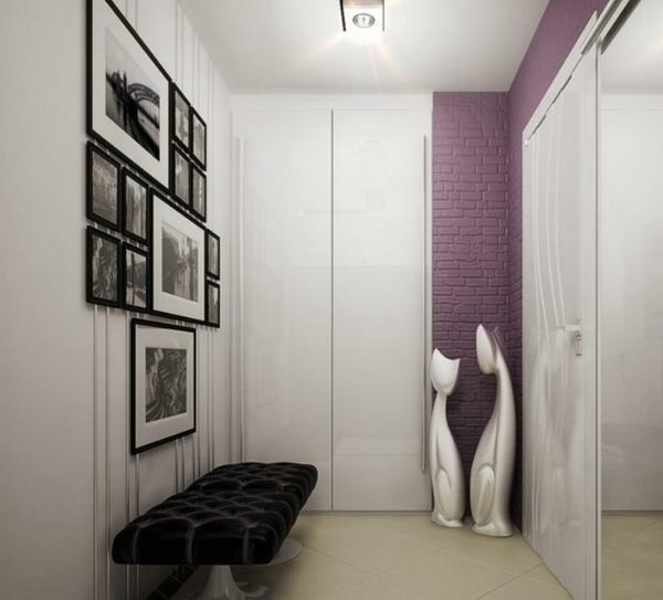 Design wardrobe room photo 3 sq.m: entrance hall 1, corridor 5 and 4, the area in the apartment meter, an example of repairs