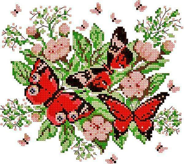 Cross-stitch pattern for children: for the child are small, simple for beginners, sets for 3 and 7 years