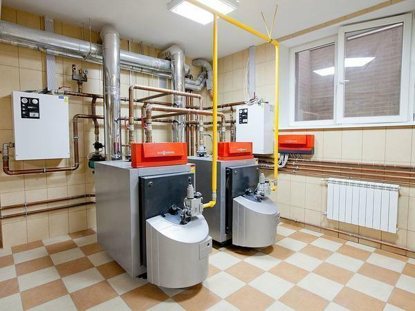 Furnishing of a boiler house in a private house must comply with the rules of technical safety