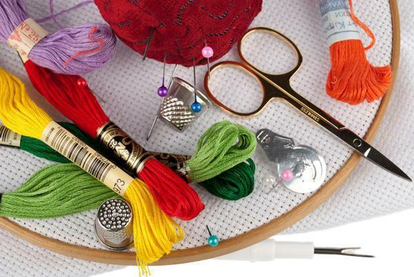 In order to make the embroidery process as convenient and comfortable as possible, it is necessary to purchase special accessories and accessories for needlework